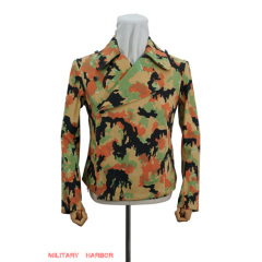 WWII German SS leibermuster camo panzer wrap/jacket