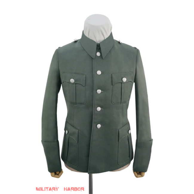 WWII German Police M40 officer Gabardine service tunic Jacket