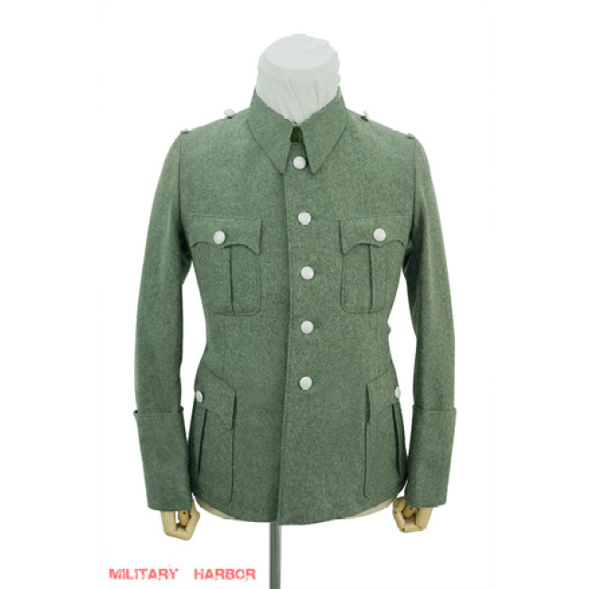 WWII German Police M40 officer wool service tunic Jacket