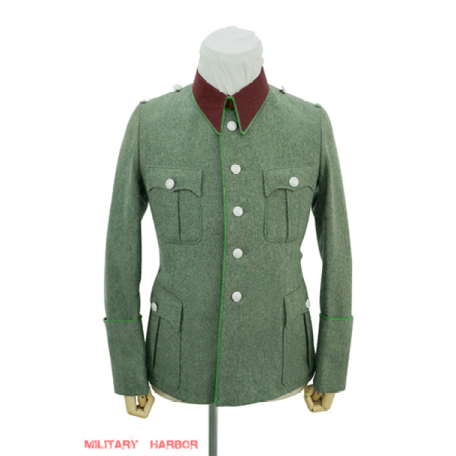WWII German police officer wool modified waffenrock tunic