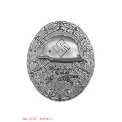 1944 Wound Badge in Silver