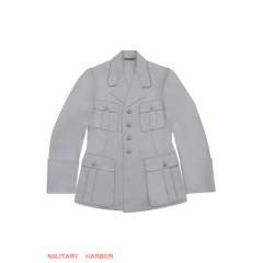 WWII German Luftwaffe M35 Officer white summer Jacket tunic