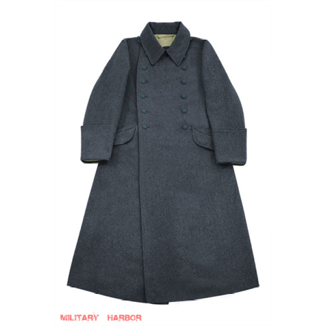 WWII German M40 Luftwaffe EM Wool Greatcoat