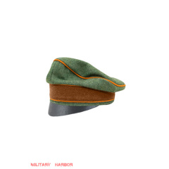 WWII German Gendarmerie Officer Wool Crusher Cap Small Visor
