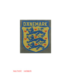 WWII German Danish Volunteer's armshield I BeVo