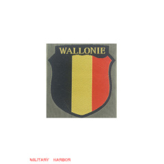 WWII German Wallonie Volunteer's armshield BeVo
