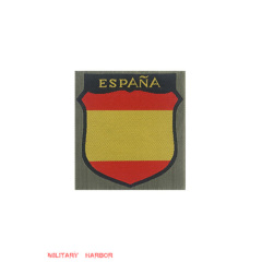 WWII German Spanish Volunteer's armshield BeVo