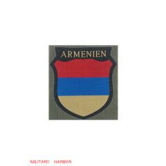 WWII German Armenian Volunteer's armshield BeVo