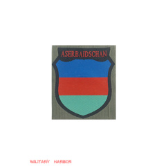 WWII German Aserbeidshanian Volunteer's armshield BeVo