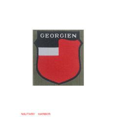 WWII German Georgian Volunteer's armshield BeVo