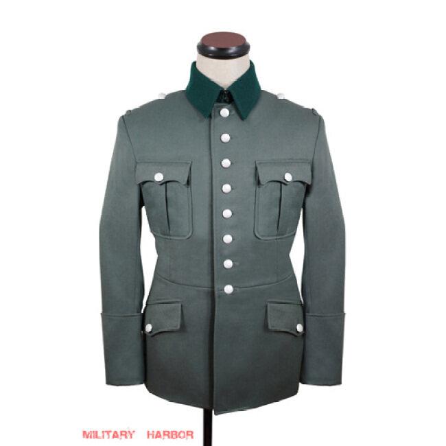 WWII German Heer M27 officer Gabardine Jacket dress tunic II
