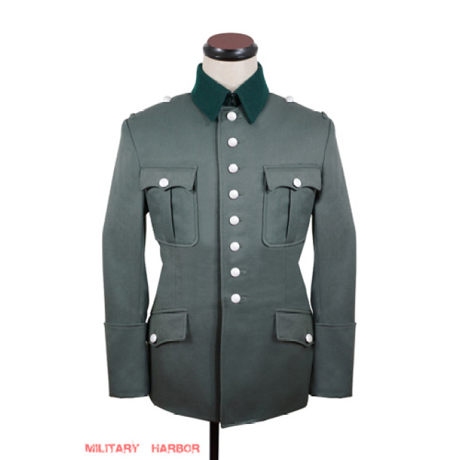 WWII German Heer M27 Officer gabardine Jacket dress tunic I