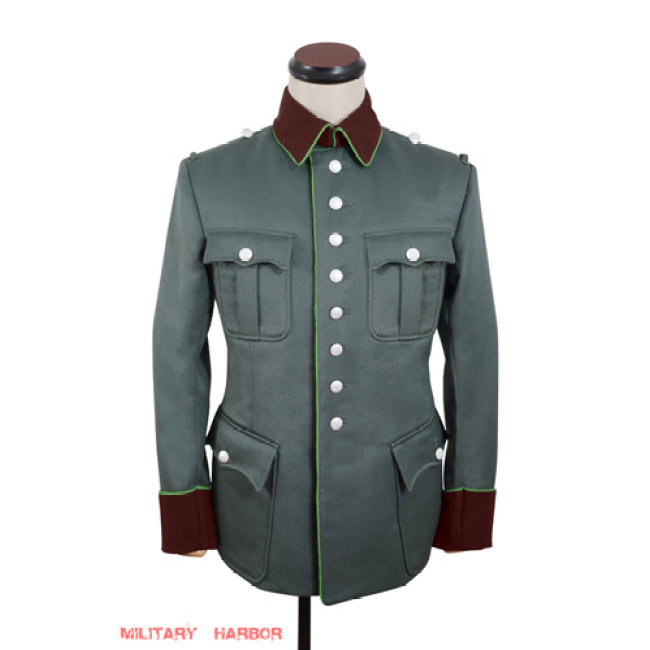 WWII German Ordnungspolizei officer Gabardine jacket dress tunic
