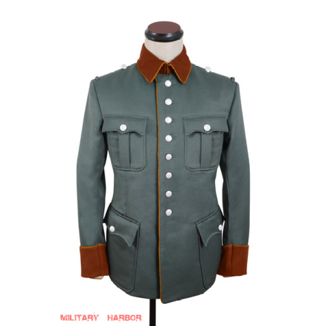 WWII German Field Police officer Gabardine jacket dress tunic