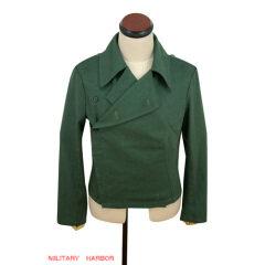 WWII German Heer panzer summer HBT reed green wrap/jacket type I