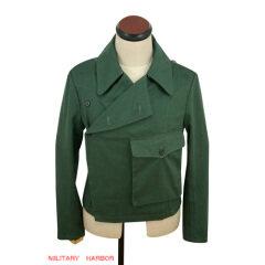 WWII German Heer panzer summer HBT reed green wrap/jacket type II