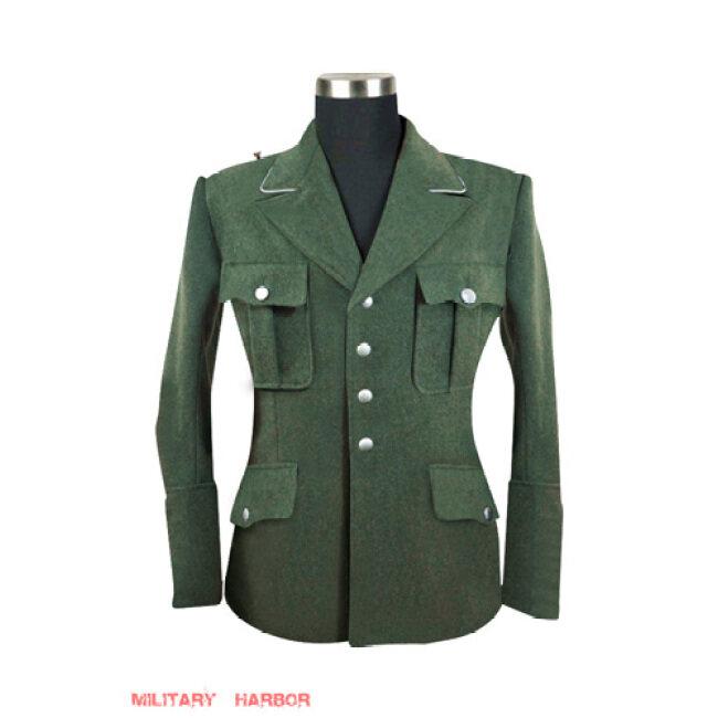 WWII German M34 SS officer field grey wool tunic