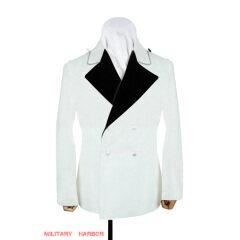WWII German SS white wool evening dress tunic
