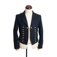 WWII German Kriegsmarine navy blue Wool Mess Dress Tunic