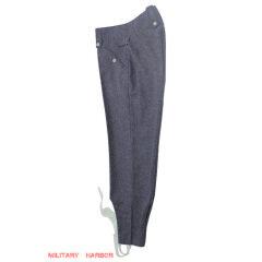 WWII German M43 Luftwaffe blue grey wool trousers keilhosen