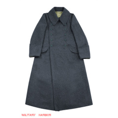 WWII German M42 Luftwaffe EM Wool Greatcoat