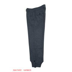 WWII German Luftwaffe blue grey wool panzer trousers