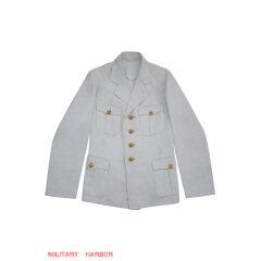WWII German Kriegsmarine Officer Summer white Jacket tunic