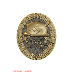 1944 Wound Badge in Gold