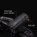 60 Lux USB Bike Light Set StVZO Approved Osram led