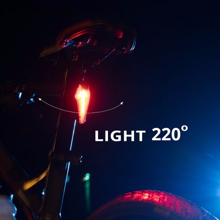 Bike Tail Light Stvzo Certificated K Mark