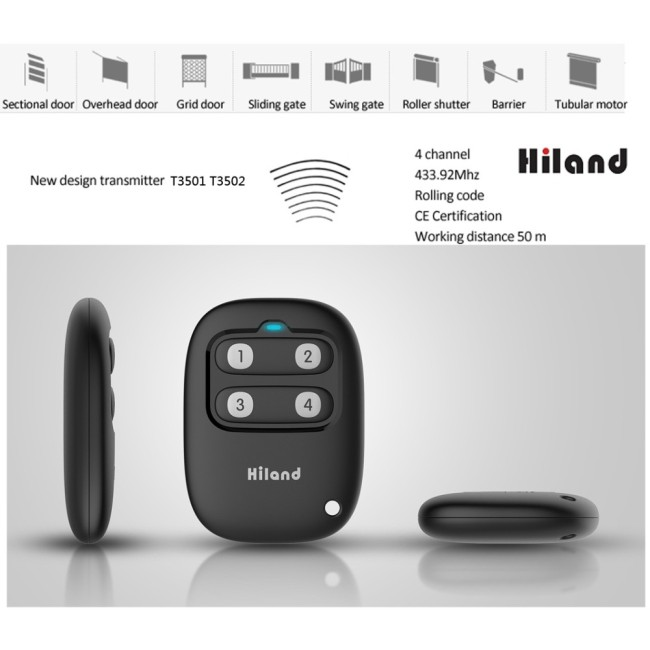 Wireless RF Gate Remote Control T3501