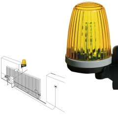 LED Gate Flash Lamp F5096 with bracket