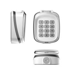 318Mhz Gate wireless keypad K5010 White