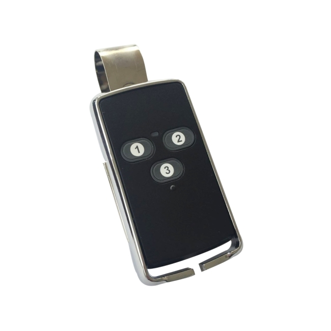 3-channel wireless transmitter with clip T6307