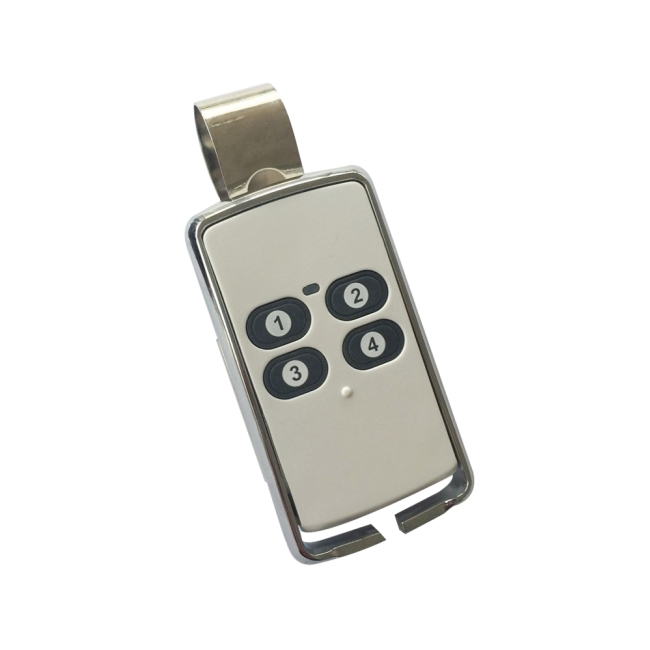 4-channel remote control transmitter with clip T6415
