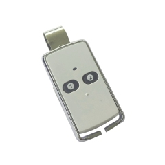 2-channel white transmitter with clip T6209