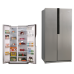 580L Fan Cooling Frost Free Side by Side Intelligent Refrigerator