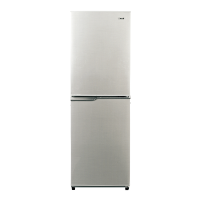 196L AC Big Freezer Compartment Design Silver Refrigerator