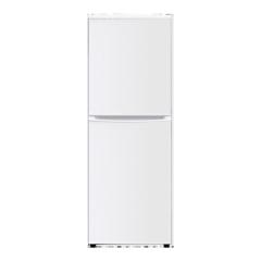 200L R600a Top Freezer Double Doors White Refrigerator