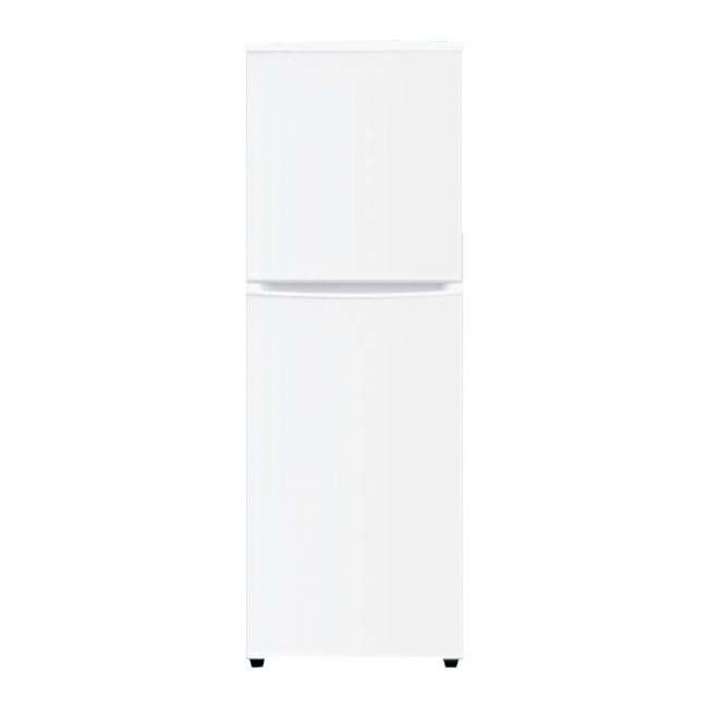 246L Top Freezer and Down Mounted White Refrigerator