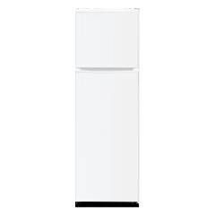 263L Double Doors Metal Panel Refrigerator with Big Fridge Capacity
