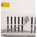 312L Big Capacity Temperature Transfer White Chest Freezer with Lock