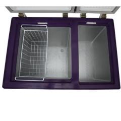 283L Double Temperature Sliding Glass Door Horizonal  Display
