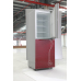 230L Direct Cooling Frameless Glass Panel Colorful Refrigerator