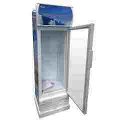 290L Glass Door Fridge Showcase with Lock and Light