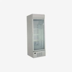 176L Transparent Anti-Frost Double Layer Glass Door Showcase