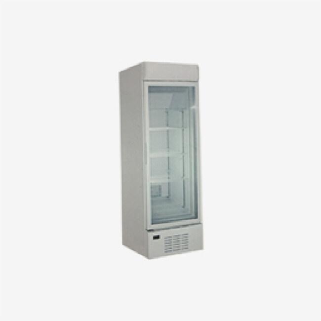 228L Big Capacity Transparent Glass Door Showcase with Light