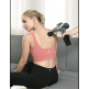 AERLANG Handheld Percussion Massage Gun, Deep Tissue Noiseless Massager for Sore Muscle and Stiffness,20 Variable Speeds Digital Display- Includes 6 Massage Heads