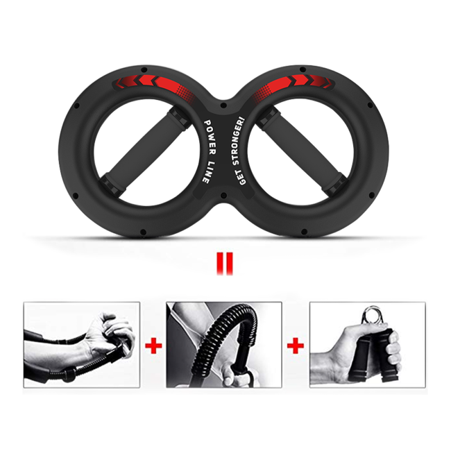 AERLANG Wrist Strengthener,Forearm Exerciser,Home Exercise Equipment for Fitness Enthusiasts,Wrist Developer Strength Trainer for Athletes,Professionals