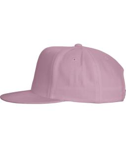 Cotton Twill Snapback Flat Bill hats-Embroidery
